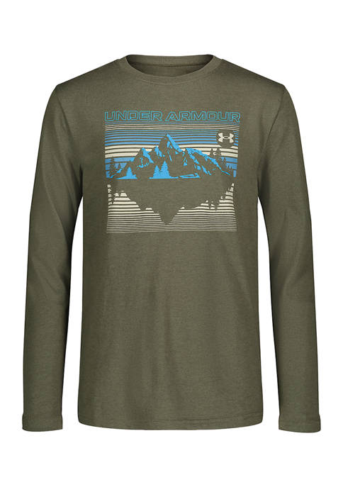 Under Armour® Boys 8-20 Shadow Mountain Graphic T-Shirt