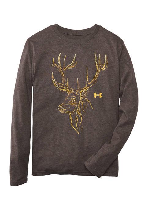 Under Armour® Boys 8-20 Deer Mark Graphic T-Shirt