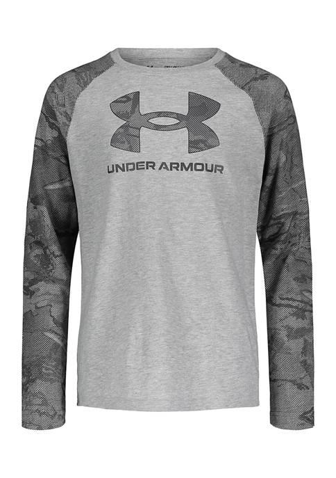 Under Armour® Boys 4-7 Symbol Raglan T-Shirt