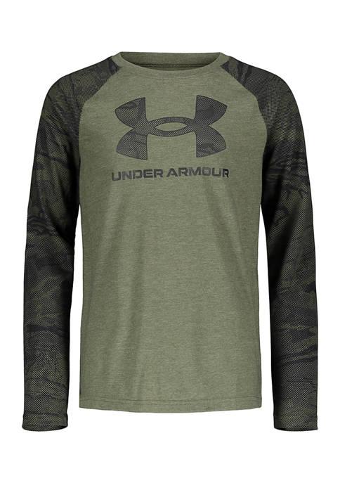 Boys 8-20 Symbol Long Sleeve  Logo Graphic T-Shirt