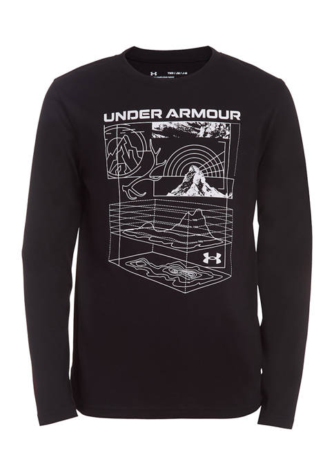 Under Armour® Boys 8-20 Long Sleeve Outdoor Schematic