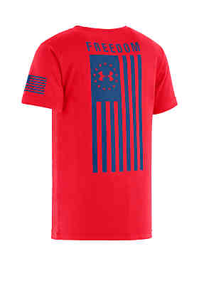 66ede1269 Under Armour® Toddler Boys Freedom Short Sleeve T Shirt ...