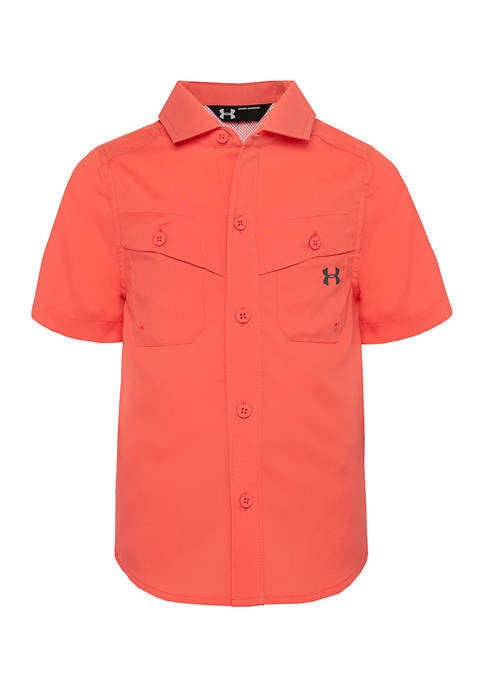 Under Armour® Boys 4-7 Collared Button Up Shirt