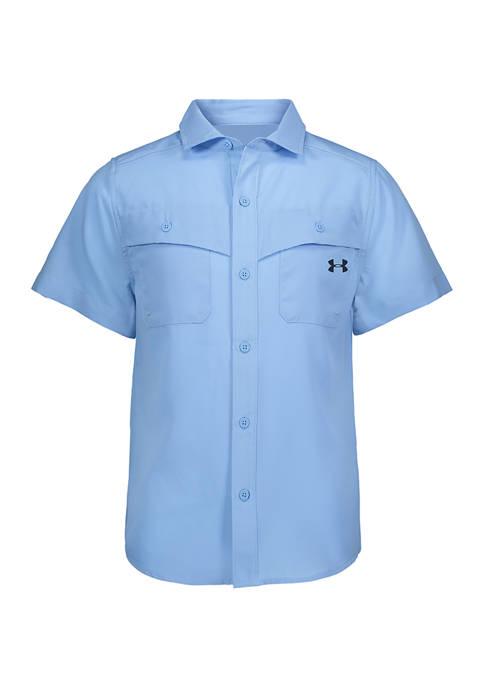 Under Armour® Boys 8-20 Marlin Saltwater Short Sleeve