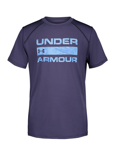 Under Armour® Boys 4-7 Sky Camo Shore T-Shirt