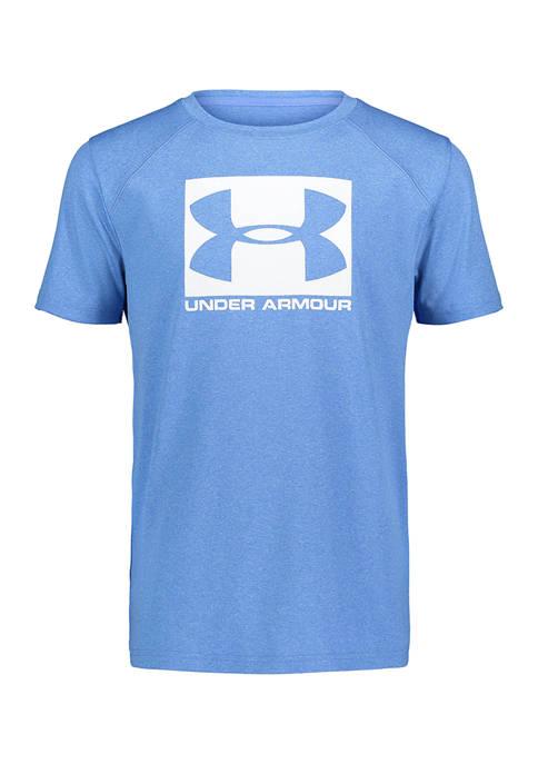 Under Armour® Boys 8-20 Short Sleeve Logo Graphic