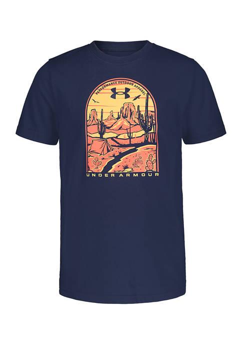 Boys 8-20  Short Sleeve Graphic T-Shirt