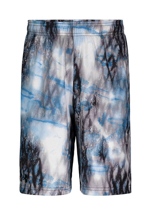 Under Armour® Boys 4-7 Printed Elastic Shorts
