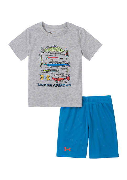 Under Armour® Boys 4-7 Monster Fish Graphic Set