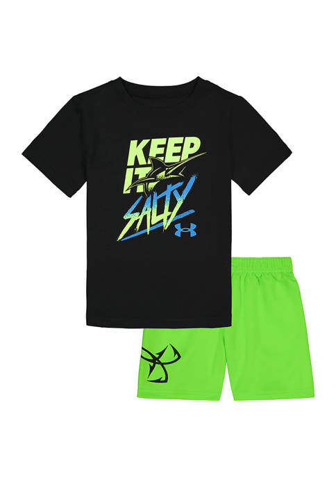 Under Armour® Boys 4-7 Keep It Salty Set