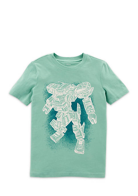 Carter's® Boys 4-7 Robot Short Sleeve Tee