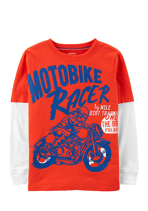 Carter's® Boys 2-7 Motorcycle 2Fer Tee