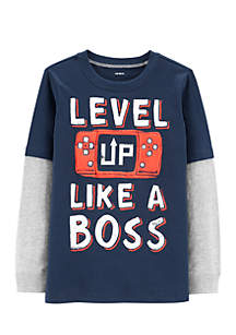 Boys 2-7 Like a Boss 2Fer Tee
