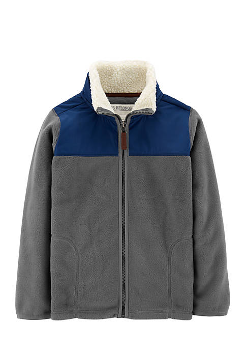Carter's® Boys 4-7 Zip-Up Fleece Jacket