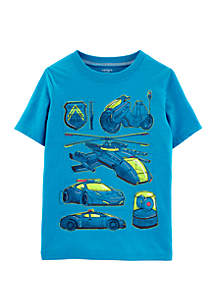 Carter's® Boys 4-8 Rescue Vehicle Snow Yarn Tee
