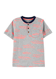 Carter's® Boys 4-7 Boat Pocket Henley Shirt