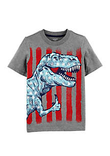 Carter's® Boys 4-7 4th Of July Dino Jersey Tee