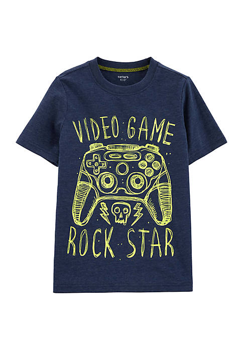 Carter's® Boys 4-7 Video Game Snow Yarn Tee