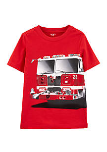 Carter's® Boys 4-7 Firetruck Jersey Tee