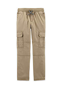 Toddler Boys Woven Pull-On Pants