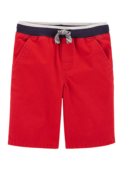 Carter's® Boys 4-7 Easy Pull On Knit Shorts