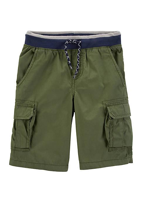Carter's® Boys 4-7 Easy Pull On Cargo Shorts