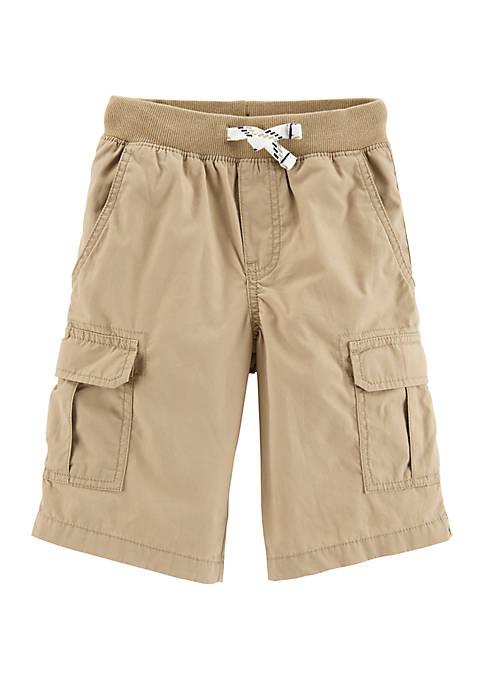 Boys 4-8 Pull On Cargo Shorts