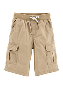 Carter's® Boys 4-8 Pull On Cargo Shorts