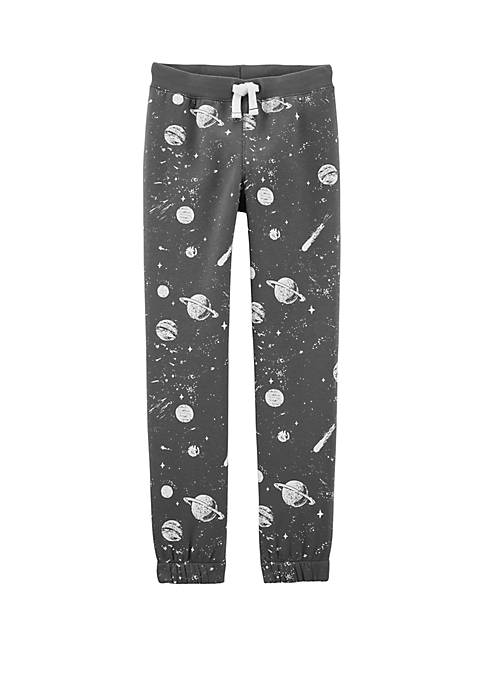 Carter's® Boys 4-8 Space Pull On Fleece Lined