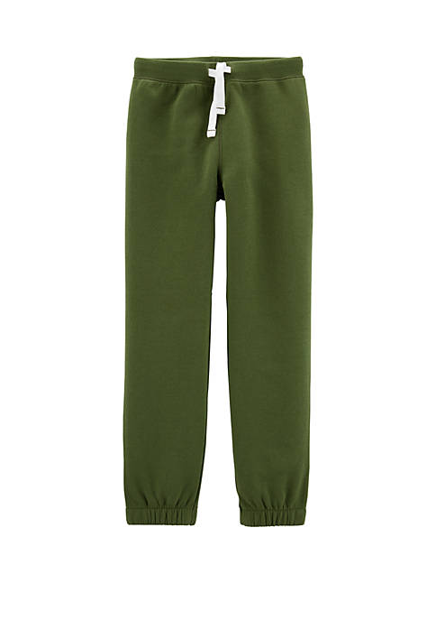 Carter's® Boys 4-8 Pull On Fleece Lined Joggers