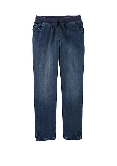 Carter's® Boys 4-8 Easy Pull On Denim Pants