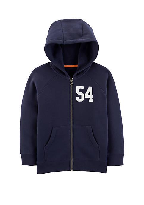 Carter's® Boys 4-8 Zip Up Fleece Lined Hoodie