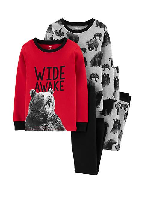 Carter's® Boys 4-20 4 Piece Bear Snug Fit