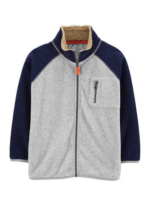 Carter's® Boys 4-7 Zip Up Fleece Jacket