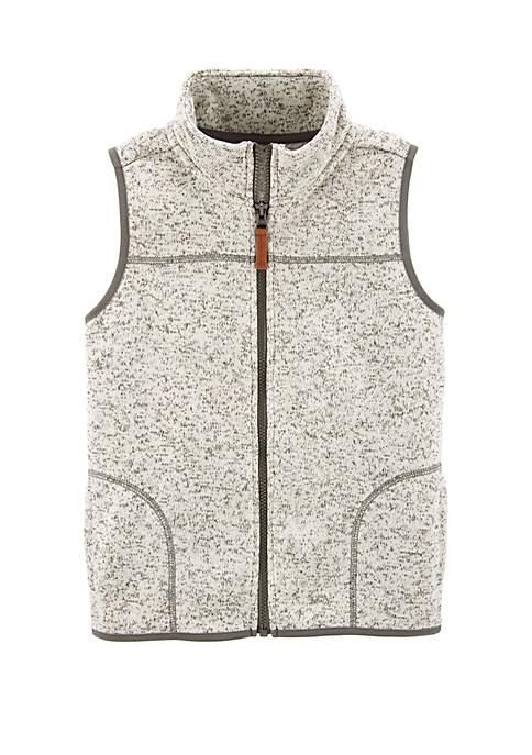 Carter's® Boys 4-8 Zip Up Sherpa Vest
