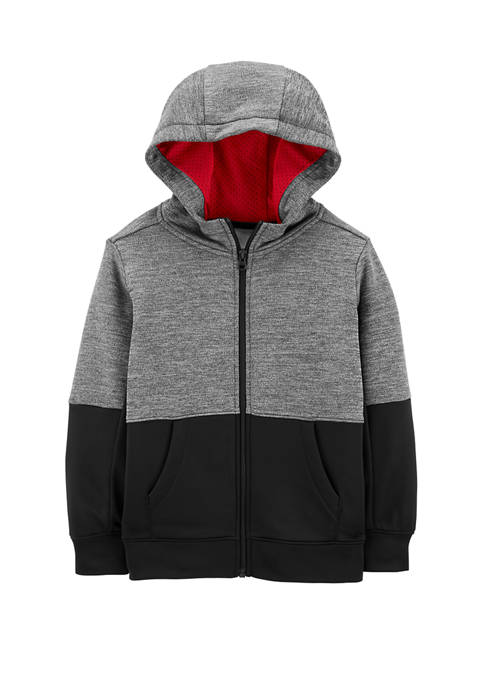 Carter's® Boys 4-7 Colorblock Zip Up French Terry