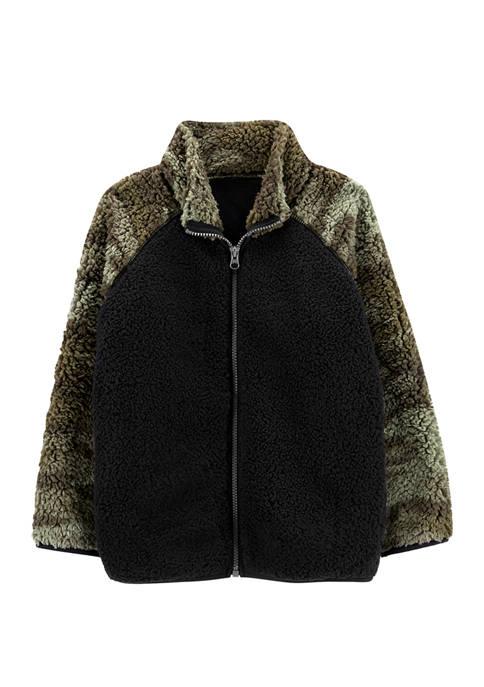 Carter's® Boys 4-7 Zip Up Sherpa Jacket
