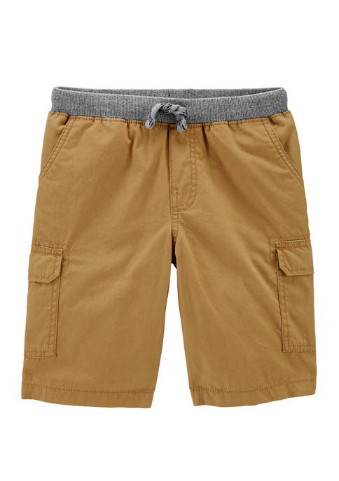 Carter's® Boys 4-7 Pull On Cargo Shorts