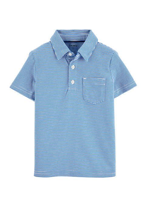 Carter's® Boys 4-7 Striped Jersey Polo