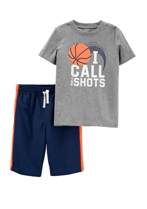 Carter's® Boys 4-7 2 Piece Call the Shots