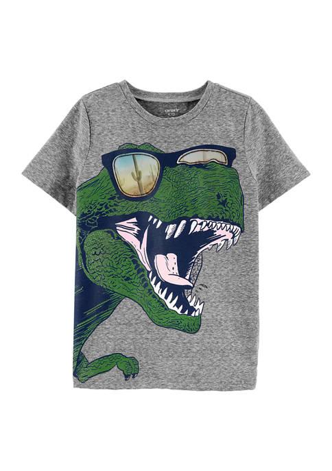 Carter's® Boys 4-7 Dinosaur Action Graphic Snow Yarn