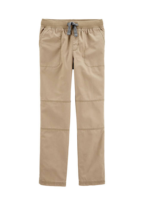 Boys 4-7 Pull On Reinforced Knee Pants