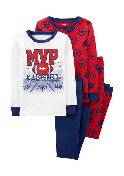 Carter's® Boys 4-10 4-Piece Football MVP Snug Fit