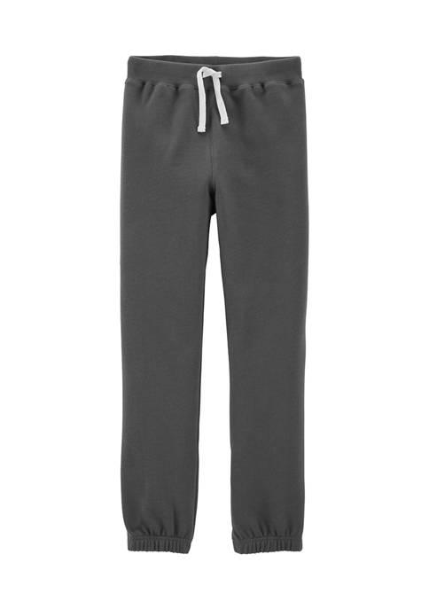 Carter's® Boys 4-7 Pull-On Fleece Pants