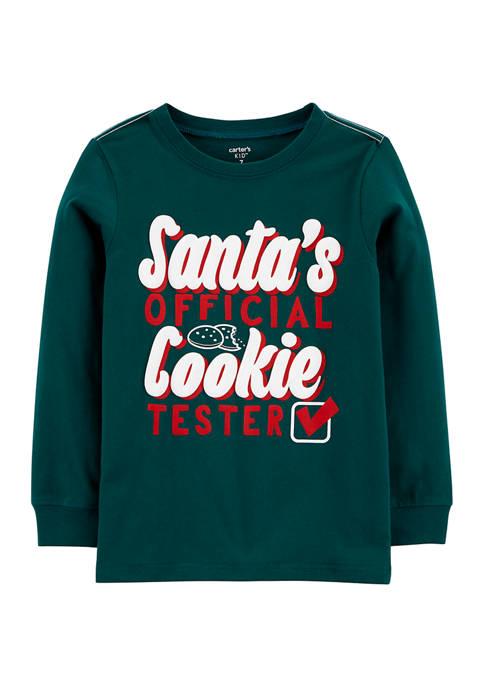 Carter's® Boys 4-7 Santas Official Cookie Tester Jersey