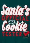 Boys 4-7 Santas Official Cookie Tester Jersey Graphic T-Shirt