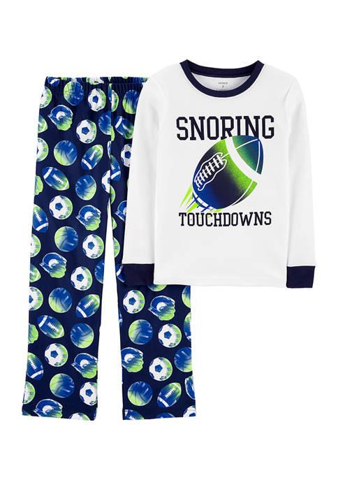 Boys 4-20 2-Piece Pajama Set