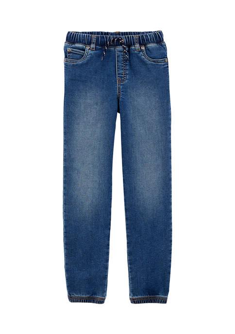Carter's® Boys 4-7 Pull On Knit Denim Pants
