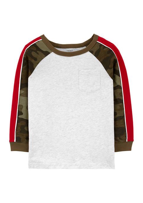 Carter's® Boys 4-7 Raglan Sleeve Jersey T-Shirt