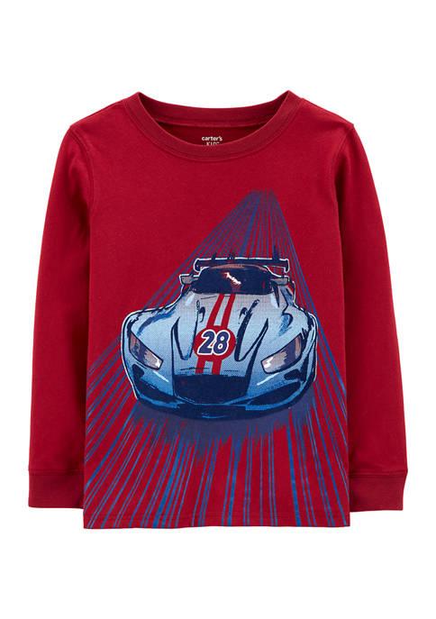 Carter's® Boys 4-7 Race Car Jersey T-Shirt